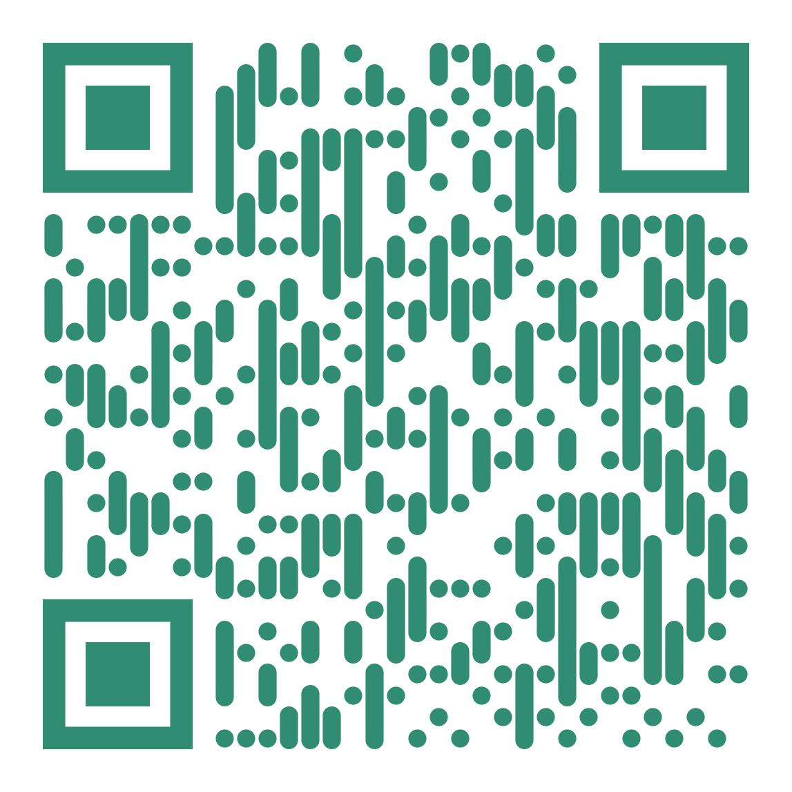 QR code de localização da Clínica Renoir